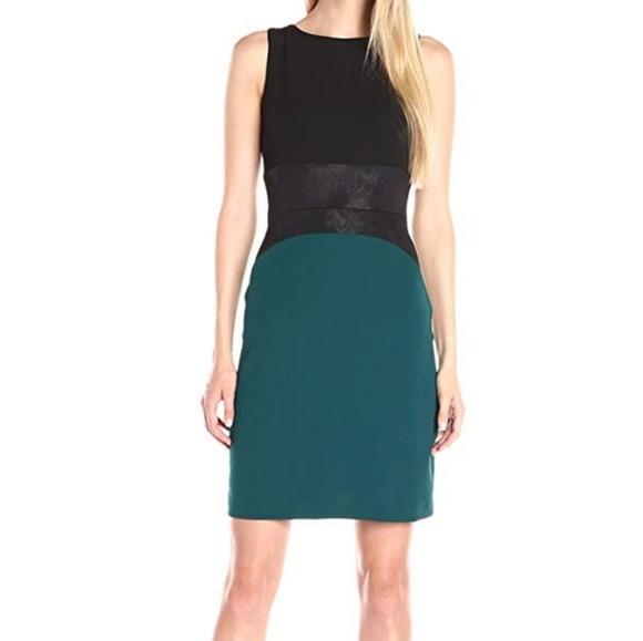 e97e0692 Donna Ricco Dresses   Colorblock Sheath Dress   Poshmark